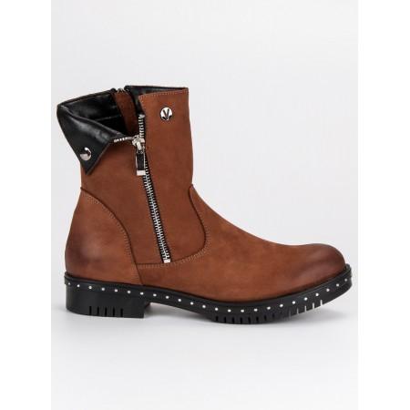 Auliniai batai  odiniai vinceza